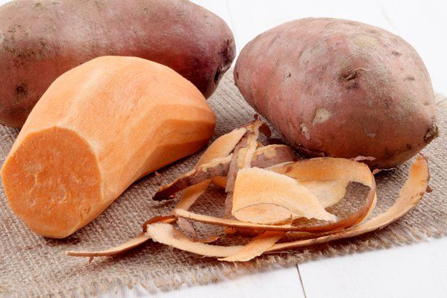 Tatlı krizini önleyen fesleğenli tatlı patates