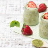 Metabolizma hızlandıran sabah kahvaltısı: Matcha tozlu Chia puding