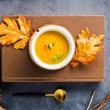 Zayıflamaya yardımcı zerdeçallı tatlı patates çorbası